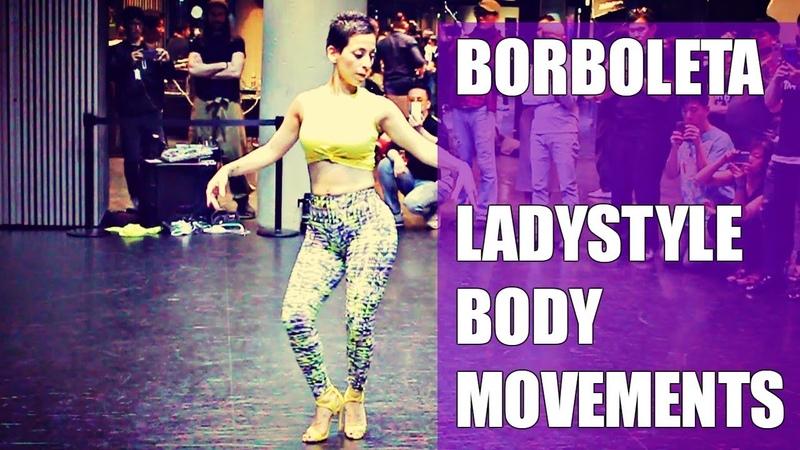 Sexy Borboleta Demonstrates repertoire of Body movements at 1st Korea Kizomba Festival 2018