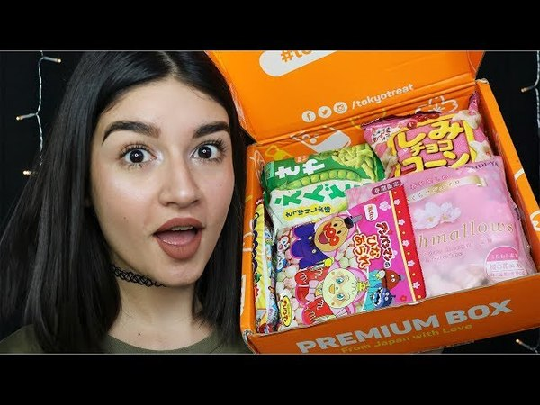 ASMR Unboxing Japanese Candy (TokyoTreat) ♡