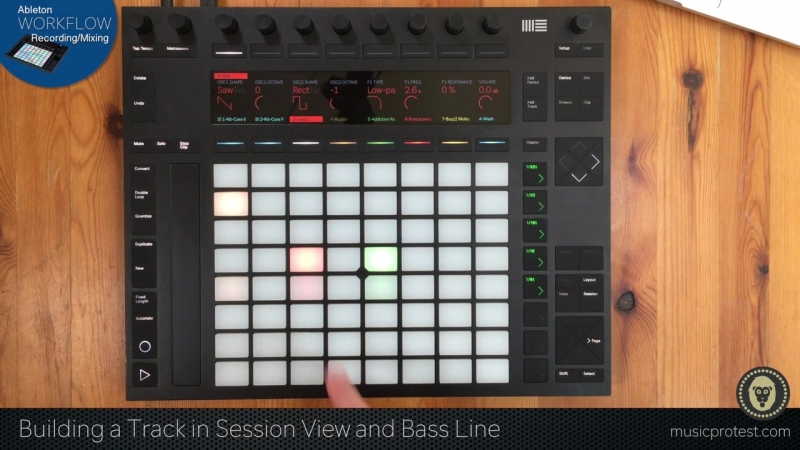SkillShare - Music Protest Ableton Workflow Simple Recording-Mixing