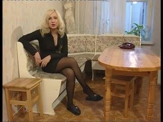 Изнасиловал Зрелую мамку - Русские пышечки (русское порно, секс, в чулках, шлюшка молодая)