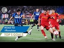 ROMA vs INTER | TOP 5 GOALS | Milito, Stankovic, Recoba and more...! | Road To