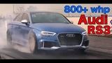 AUDI RS3's &amp TTRS 's Battle for 8 &amp 9 Second 14 mile passes 5cyl Shoot out