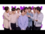 BTS So Happy Challenge with Brent Rivera - Radio Disney Music Awards