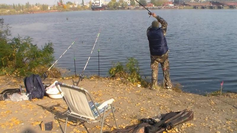 Рыбалка в Херсоне на карася и плотву Остров затон 2018 Осень