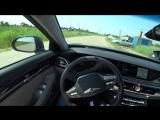 Genesis G90 2018 3.3 370hp Acceleration 0-100 Racelogic Разгон Генезис Г90 3.3L T-GDI 8AT 4WD