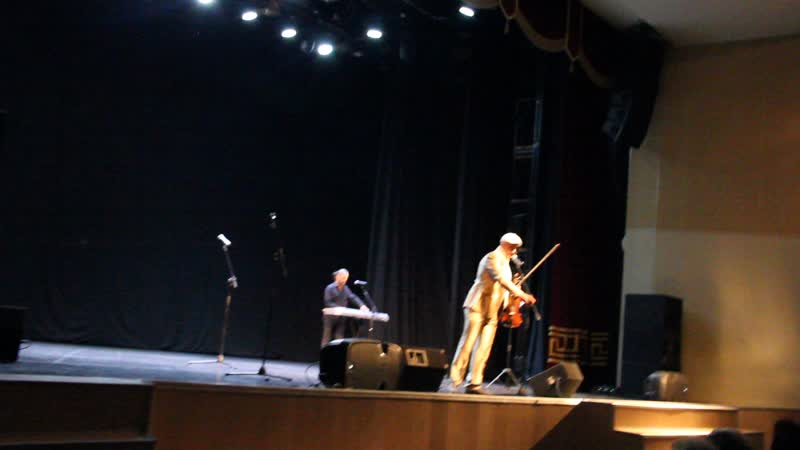 Группа Попутчик. Замечательный скрипач - Андрей Волошин. Архангельск, Фестиваль шансона, 13.10.2018