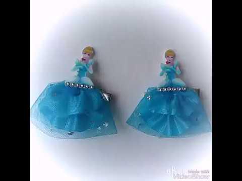 Попелюшка на заколці.Швидкий спосіб пошити плаття для принцес.