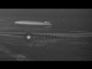 Zeppelins USS Los Angeles (LZ-126) and Hindenburg (LZ-129) at Lakehurst Naval Air...HD Stock Footage