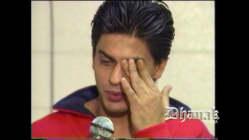 Shahrukh Khan Juhi Chawla Exclusive footage Dhanak TV USA смотреть онлайн без регистрации