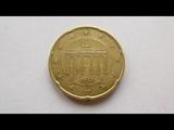 20 Euro Cent Coin Germany 2002 F (Stuttgart)