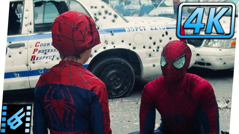 Spider-Man vs Rhino Ending Scene