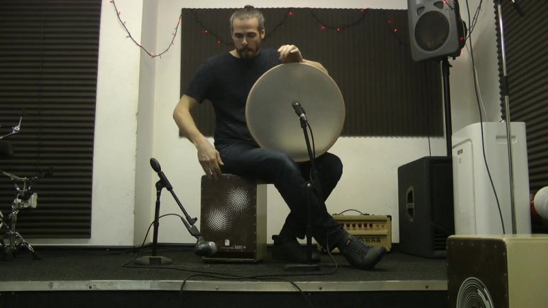 Кахон Live Cajon BASS Shift Pro and Frame by Andrey Tanzu