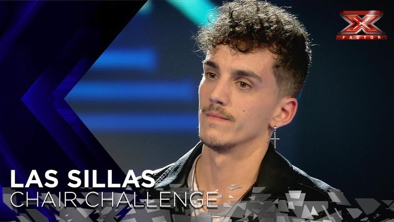 Israel del Amo hace que Risto se trague sus palabras con un tema propio | Sillas 1 | Factor X 2018
