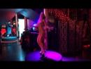 Aelita go-go dance in Buddha Bar SPb