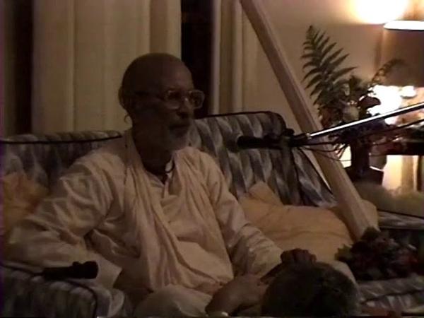 08 02 1997 вечер Мурвиллумба Вьяса пуджа Гурудева гуру таттва