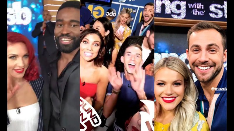 DWTS Athletes: Instastories- GMA Hangout