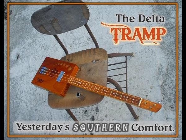 The Delta Tramp - 3 string Cigar Box Guitar