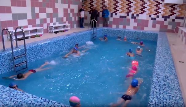 Бассейн «Дельфин» отправился в плавание!