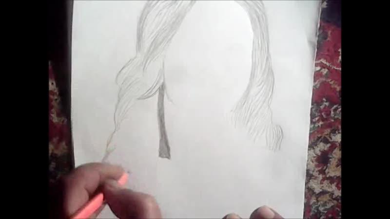 One of my drawing on youtube.. ..Один из моих рисунков на YouTube .... Youtube'daki çizimimden biri ..