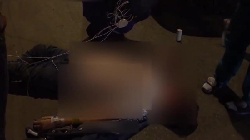 Очевидцы о страшной аварии в Йошкар-Оле_ мужчина погиб на месте, женщину пытались спасти