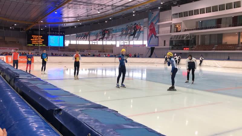 Представление суперфинал юноши 1500м