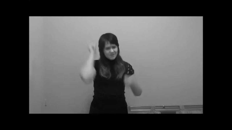 Жестовая Песня. Валентина Бирюкова - Баллада о матери. (Стихи - Дементьев, Музыка - Мартынов)