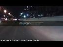 Ханты-Мансийск 18.01.2019 водитель Яндекс такси избежал ДТП