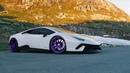 😈 Supercharged Lamborghini PURPformante: ADV.1 Wheels x Luxury Custom AG