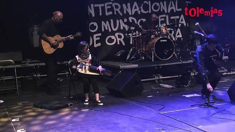 BellónMaceiras Quinteto María López. Festival de Ortigueira 2014. Muiñeira de Pontesampaio