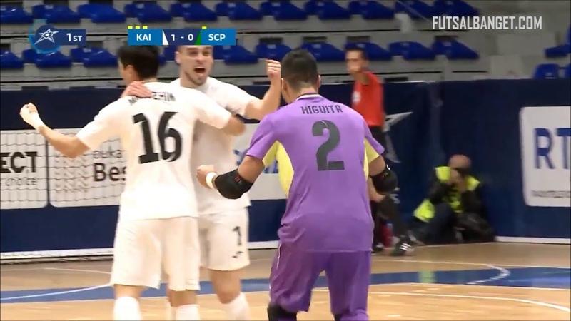 UEFA Futsal Champions League 201819 | Kairat 2 - 1 Sporting CP