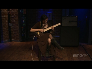 "Yvette Young plays ""Sea Dragon"" live on EMGtv"