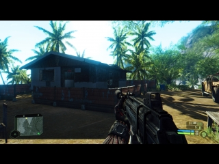 Тест Paradise mod Crysis в Remastered PC Edition