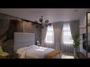 Дизайн интерьера двухкомнатной квартиры 87 кв м в Москве, район Бауманская, для холостяка