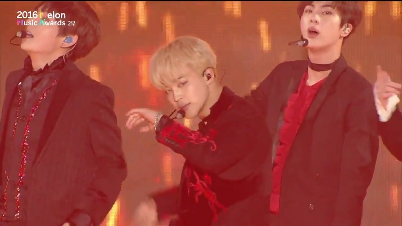BTS - Fire [From MelOn Music Awards 2016] Live