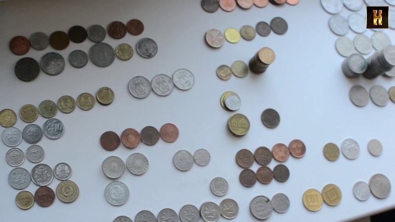 3 кг зарубежных монет (Нумизматический поиск)