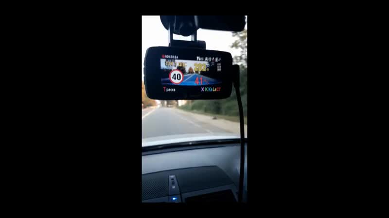 Видеорегистратор Ambarella A7LA50 с антирадаром GPS 3 в 1