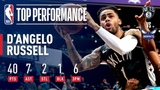 D'Angelo Russell Goes For 40 On His 23rd Birthday! February 23, 2019