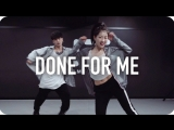1Million dance studio Done For Me - Charlie Puth (ft. Kehlani) / Youjin Kim Choreography