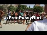 Free Pussy Riot. Barcelona. Sagrada Fam