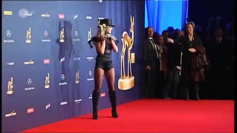 Britney Spears 2008 Bambi Awards Press Room