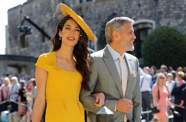 Разлад в семье: Амаль Клуни с детьми съехала из дома Джорджа