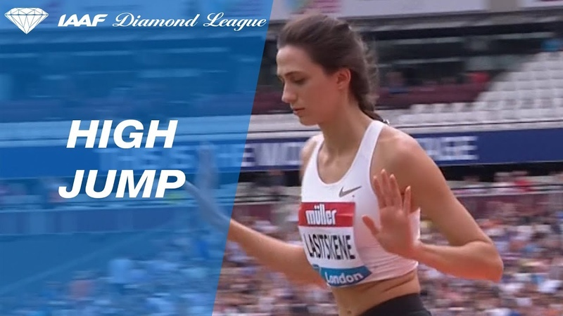 Mariya Lasitskene 2.04 Wins Women's High Jump - IAAF Diamond League London 2018