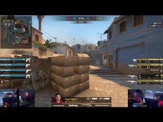 Стратегия с хаешками на Mirage от Astralis vs FaZe @ FACEIT Major