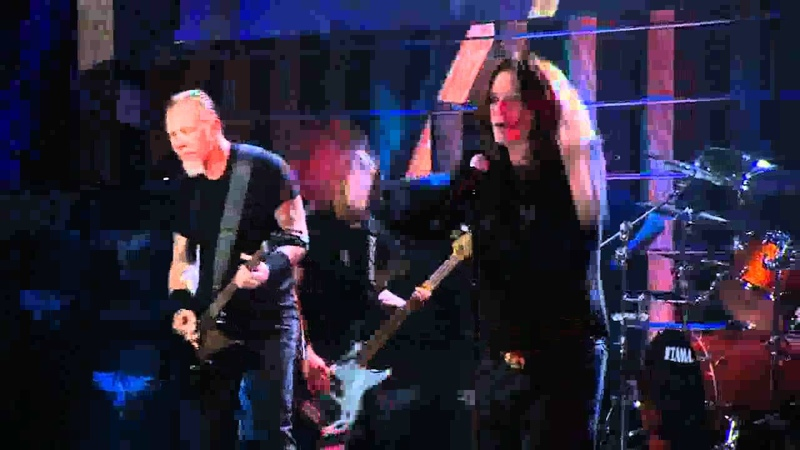 Metallica Ozzy Osbourne - Paranoid (Hall Of Fame 2009) HD