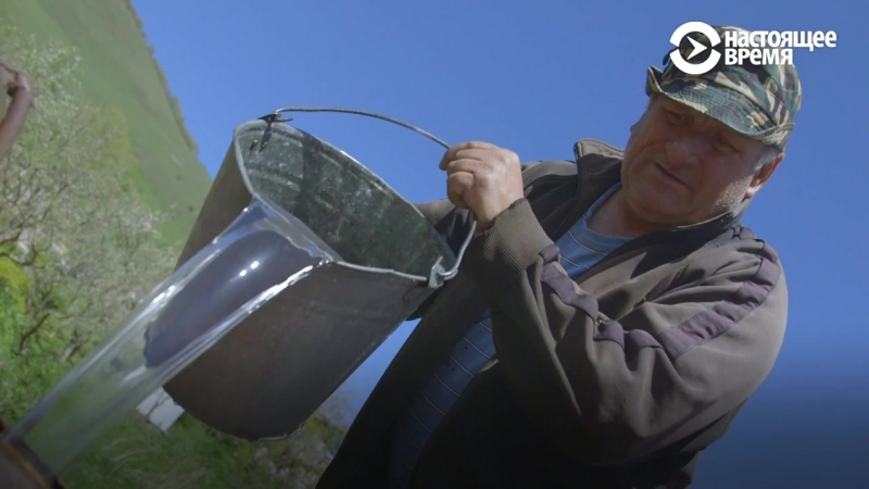 Мини-ГЭС в в горном селе Северной Осетии