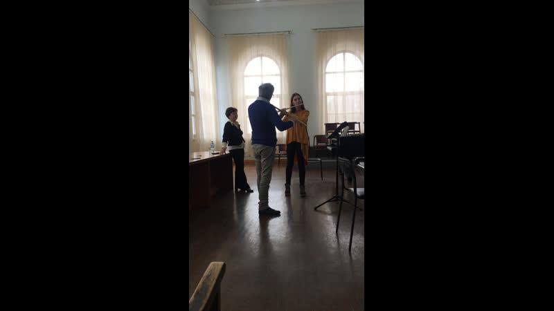 Мастер класс игры на флейте