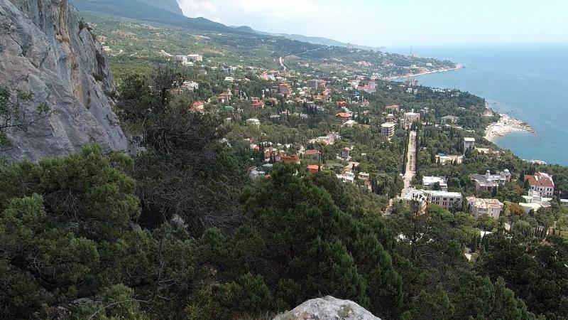 На шее горы Кошка. Симеиз (Крым)