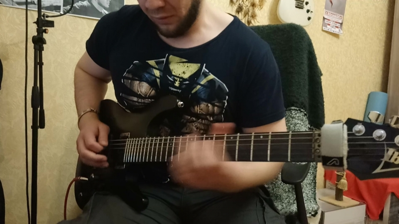 Murik Caps - Another Day solo (Dream Theater) Pedal zoo contest