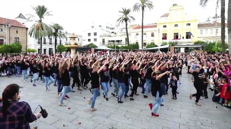 Flashmob flamenco en Mérida
