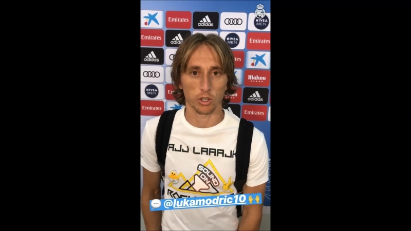 ❤️ 2017-18 Men's UEFA Player Of The Year ❤️ Luka Modric